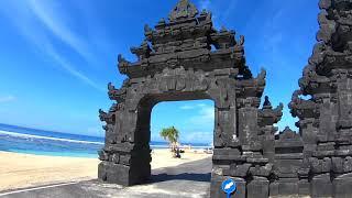 Пляж Меласти в Улувату Бали