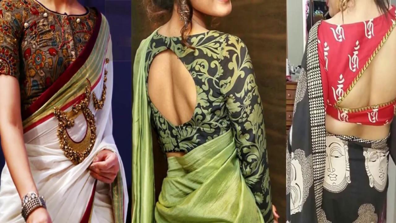 Latest Designer Kalamkari Blouse Designs 2018 Kalamkari Blouse