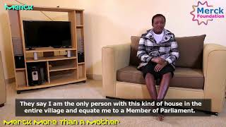 Watch what happened to Jackline Mwende,victim of infertility stigma, after meeting Merck Foundation