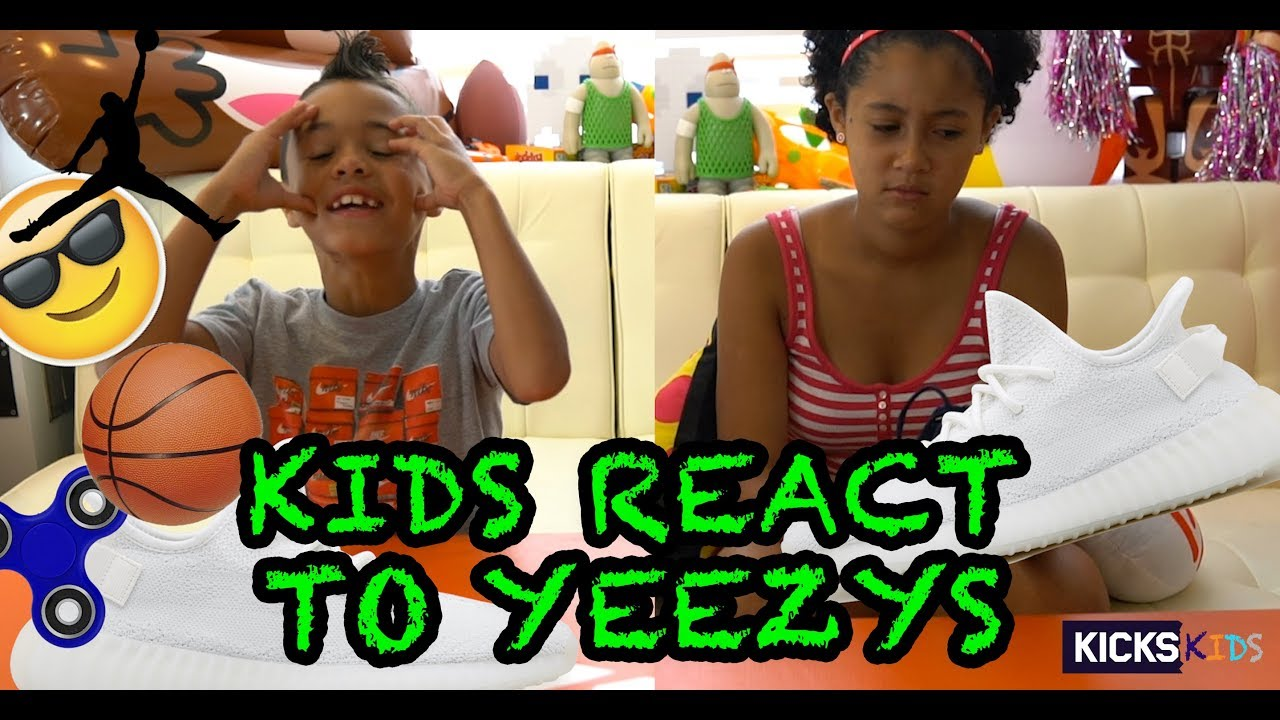 Kids Review Jordan and Kyrie and Customize Yeezy | Kicks Kids