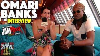 Omari Banks Interview @ Welcome To Jamrock Reggae Cruise 2015