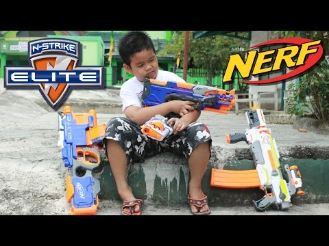 Nerf Hyperfire Automatic || Unboxing And Firing Test