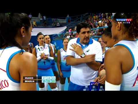 MOLICO/OSASCO X BRASÍLIA VÔLEI - Copa Brasil de Vôlei Feminino 2015