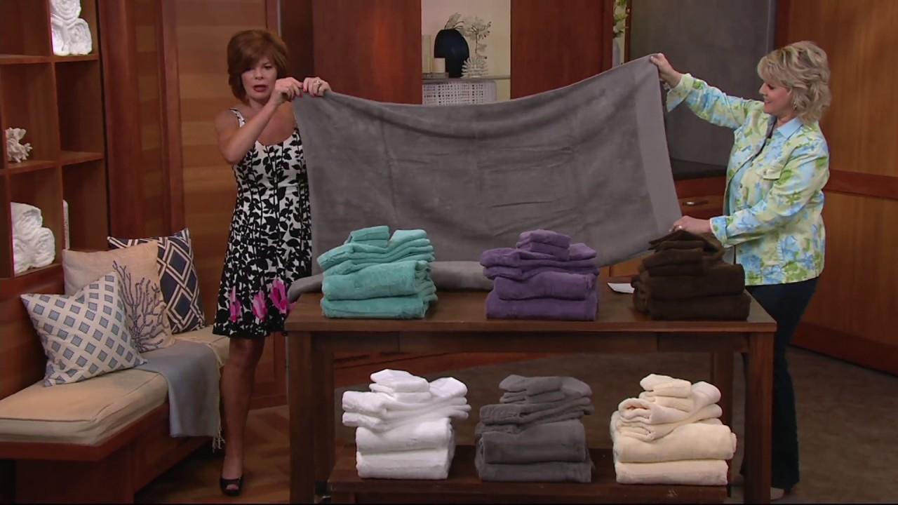 Northern Nights Super Duet 100 Cotton 6 Piece Bath Towel Set On Qvc Youtube