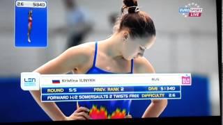 Wasserspringen-Frauen-EM-Berlin-2014-Eurosport/Part 2-