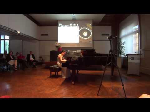 June Wu, Solo Recital part 1, 2015 Les Amateurs Virtuoses Festival, Paris