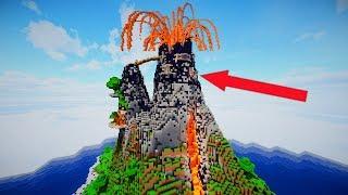 du glaubst nicht was sich in dem vulkan befindet