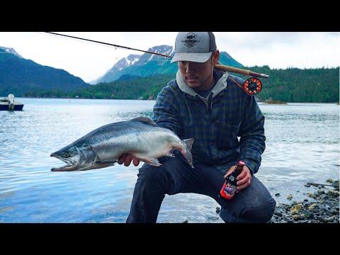 INSANE Alaska SALMON Fishing!!!