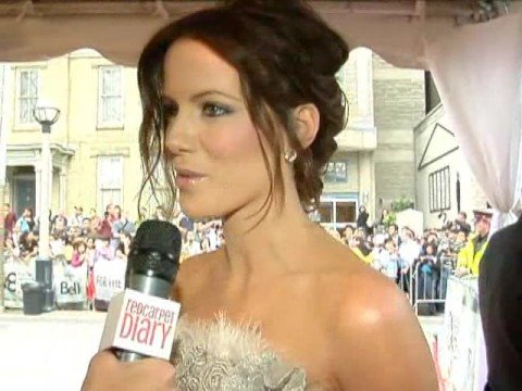 Kate Beckinsale and Adrian Brody at the world premiere of
