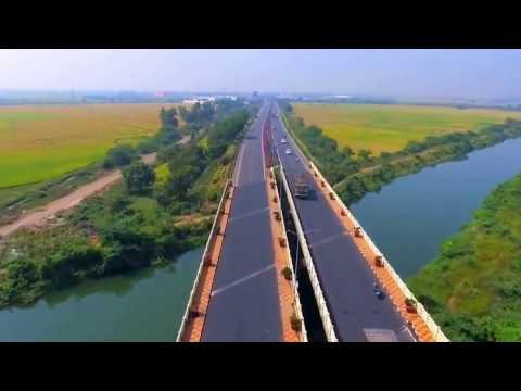 How Beautiful are Vijayawada Amaravati Roads  (AP Capital)