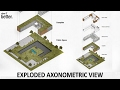 Exploded Axonometric View in Photoshop