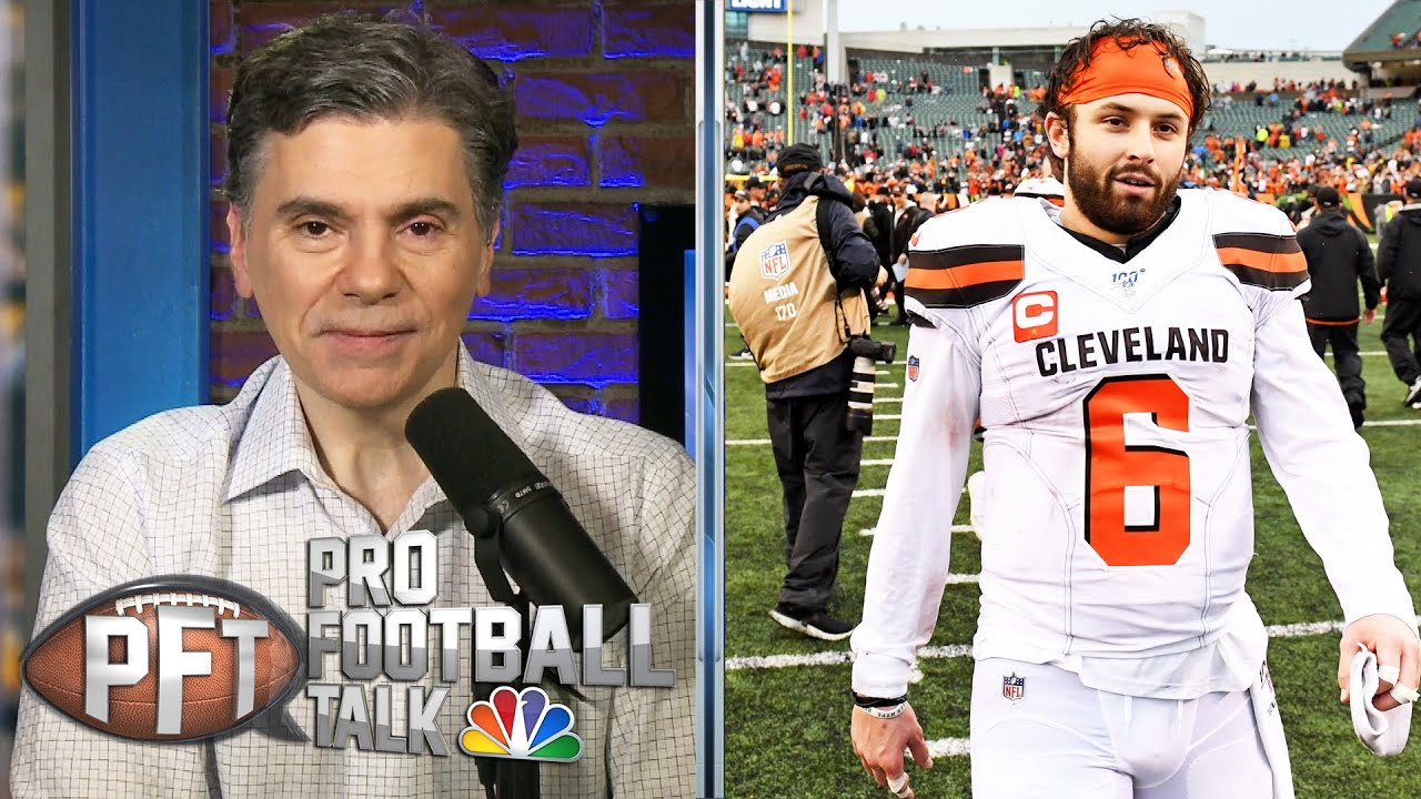 Browns' Baker Mayfield searching for maturity in key year | Pro Football Talk | NBC Sports