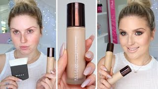 First Impression Review ♡ Becca Aqua Luminous Perfecting Foundation