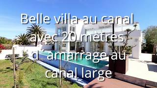 Immo Vogt & Marin Empuriabrava -  Costa Brava Villa de Luxe  à vendre à Empuriabrava