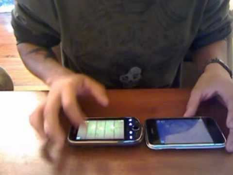 Samsung Intercept (Virgin Mobile) VS Iphone 3GS Part 2