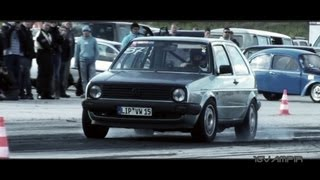 16Vampir VW Golf 2 4Motion 1013HP Best Of 2012