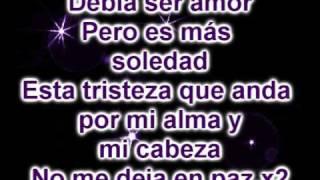 Debia Ser Amor - Isa Tkm (con Letra).wmv