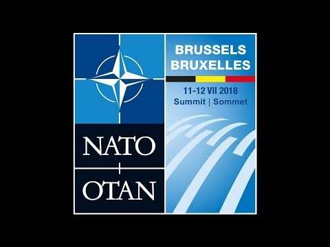 Unveiling of the NATO Brussels 2018 Summit Logo, Foreign Ministers Meeting, 05 DEC 2017