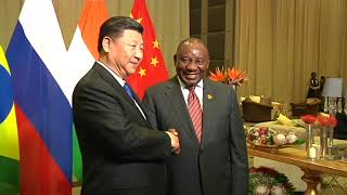 President Cyril Ramaphosa leads South African government in hosting the 10th BRICS Summit