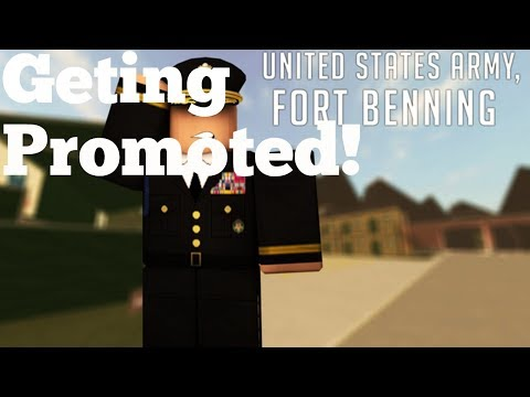 Roblox Army training get Promoted!TO DRILL SEARGENT!!!???