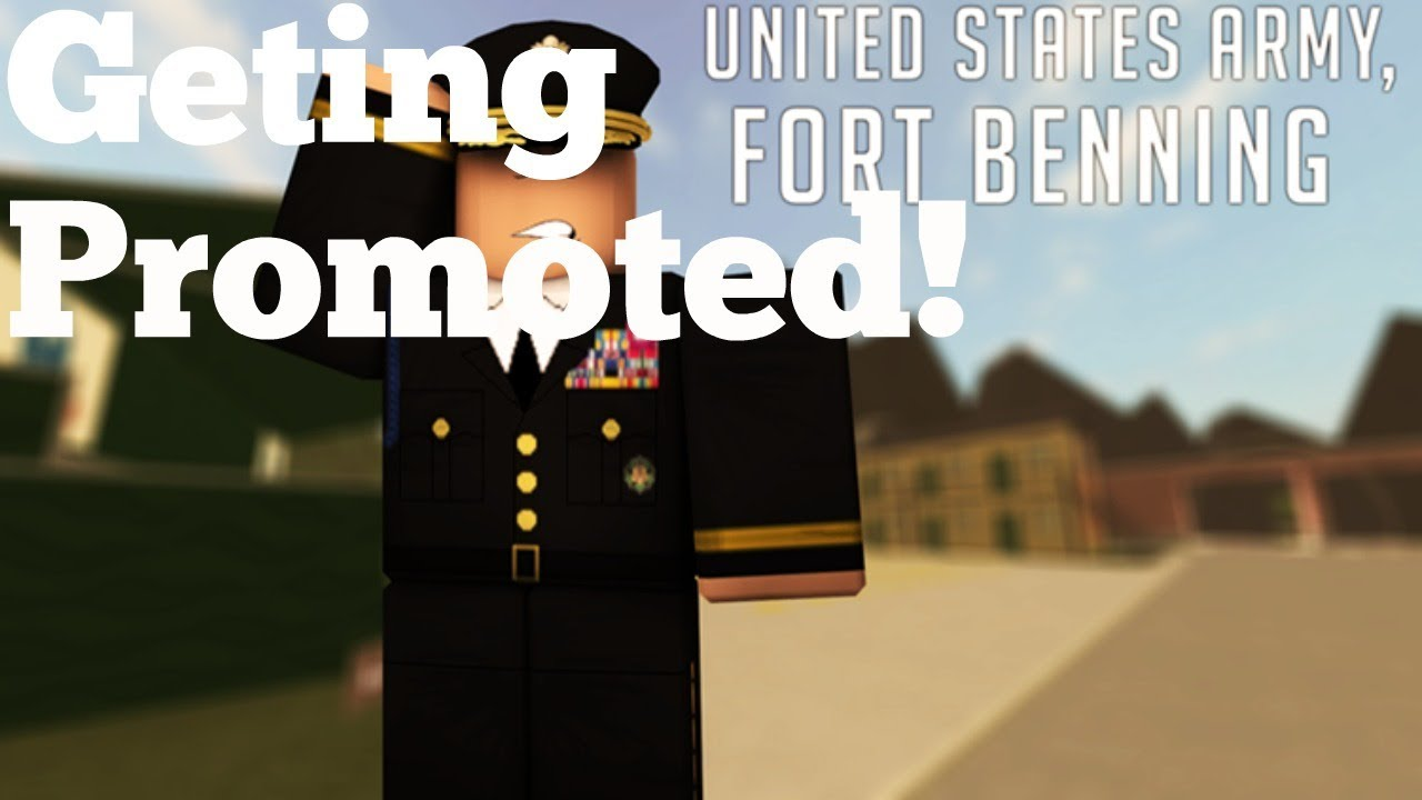 Roblox Army training get Promoted!TO DRILL SEARGENT ...