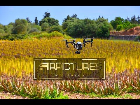 Aloe Vera Farm Mallorca in voller Blüte --- DJi Inspire 1 v2 X5 + Osmo, Airpictures Mallorca