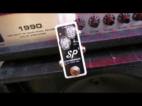 Xotic Effects SP Compressor Super In Depth Review