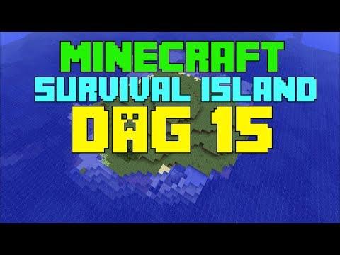 Minecraft  Survival island  Dag 15 ''NAAR DE NETHER EN IPHONE IN WATER!''