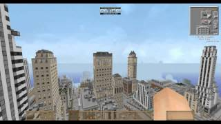Mapa de New york para minecraft