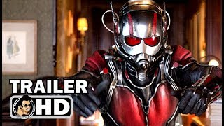 ANT-MAN 2: ANT-MAN AND THE WASP International Trailer #1 | NEW (2018) Marvel Superhero Movie HD