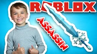 CRAFTING ICE ANCIENT KNIFE IN ROBLOX ASSASSIN ( ARTISANAT MYTHIQUE DE COUTEAU