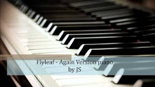 Flyleaf - Again piano cover