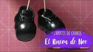 Como hacer zapatos de Charol ultrabrillantes para fofuchas El Rincon de Noe