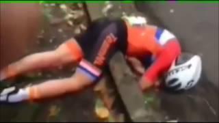 Шоссейный велоспорт Рио 2016 трагедия  Голландской велосипедистки.