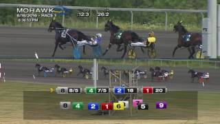 Mohawk, Sbred, June 18, 2016 Race 1