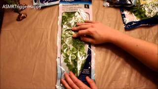 Opening Plastic Aquarium Plants (asmr)