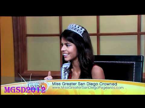 MISS GREATER SAN DIEGO USA 2012 MABELYNN CAPELUJ ON THE CW!!!
