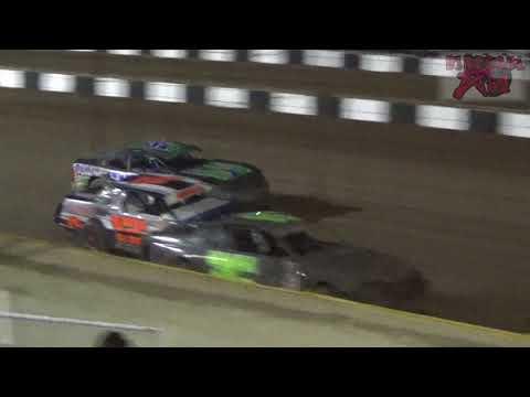 Salina Speedway - 4-27-18 - Coors Light Stock Car A Feature