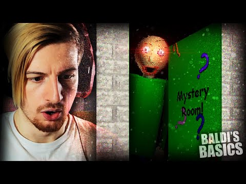 SO BALDI HAS A SECRET MYSTERY DOOR NOW. || Baldi's Basics (Demo Update)