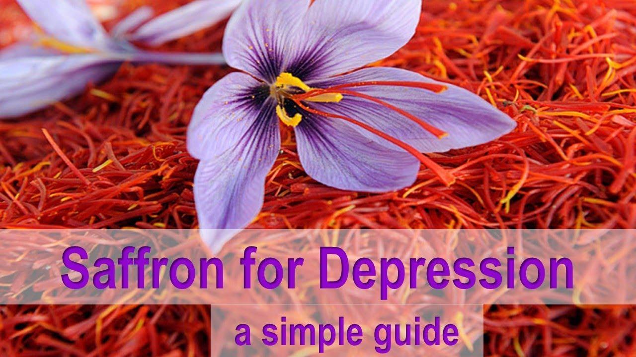 saffron for depression: a simple guide