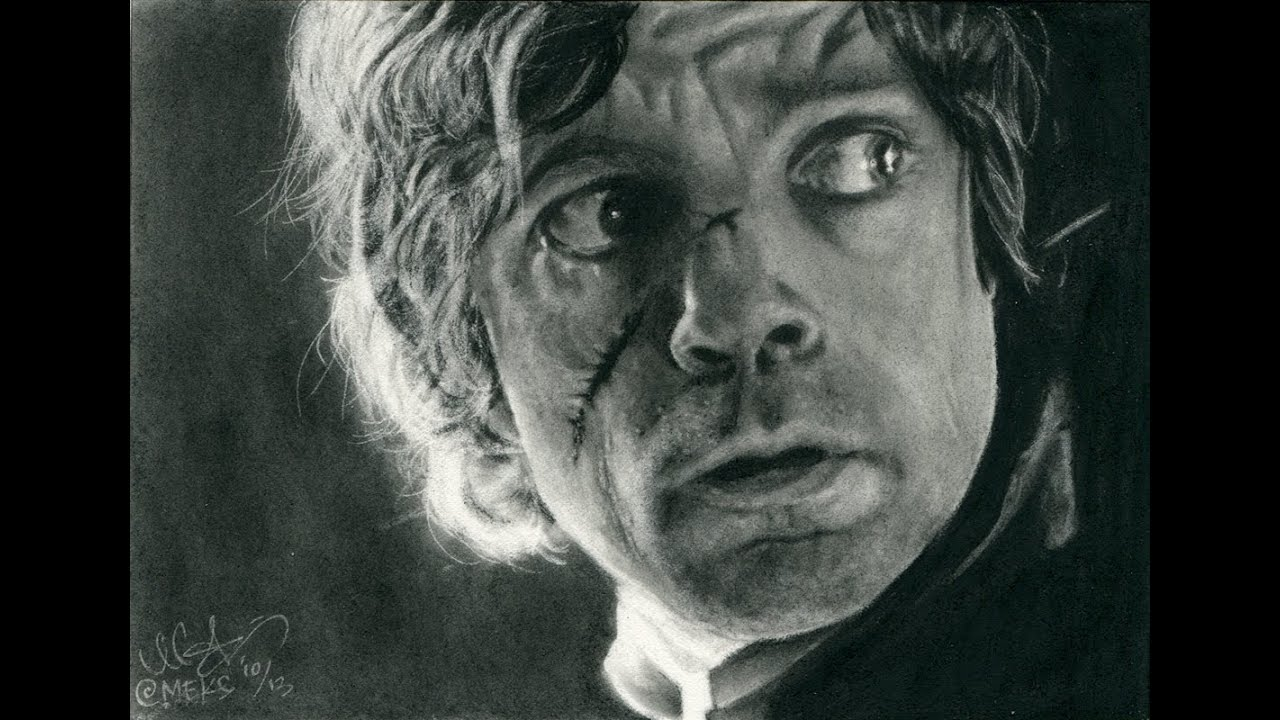 Speed Drawing - Casting A Large Shadow - Game of Thrones Tyrion ...
