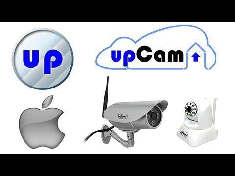 upCam QuickConnect - App Einrichtung auf iPhone für alle upCam IP Kameras,  Cyclone, Tornado