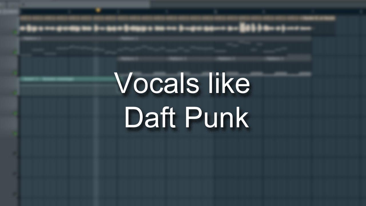 Make Vocals like Daft Punk (Vocoding)