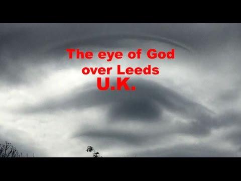 Eye of God over Leeds, Yorkshire, UK