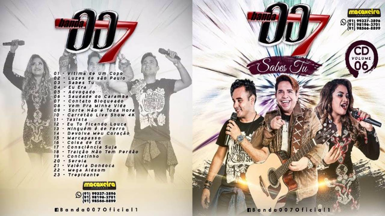 ♬ BANDA 007 2017 VOLUME 06 Oficial ♬ #1