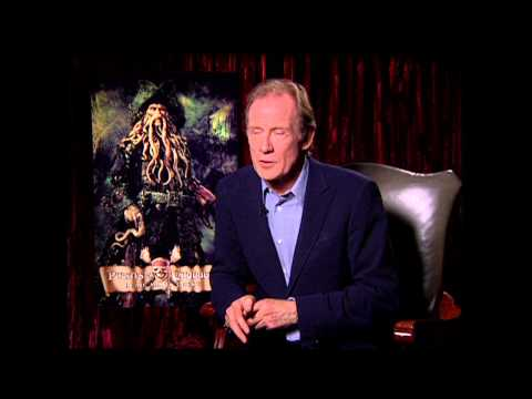 "Pirates Of The Caribbean Dead Man's Chest: Bill Nighy ""Davy Jones"" Exclusive Interview Part 1 of 2"