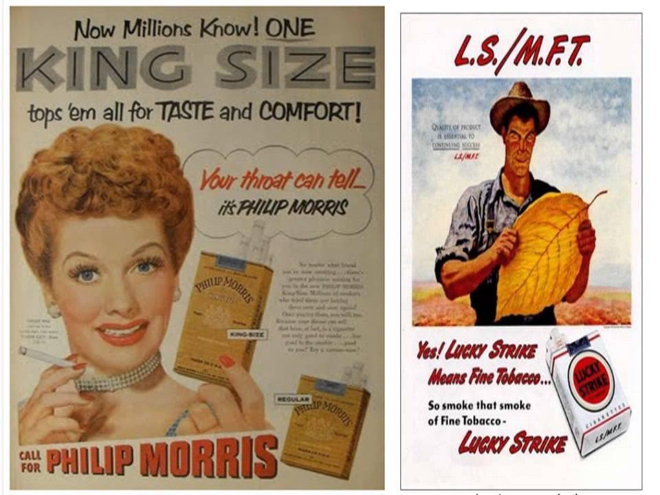 cigarette history