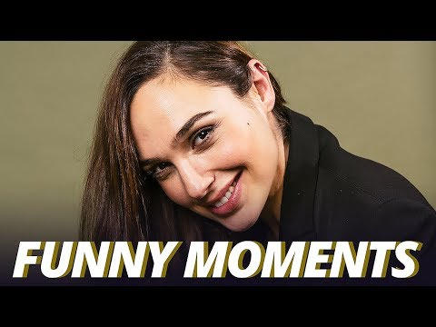 Download Youtube: Gal Gadot Funny Moments - Justice League (2017)