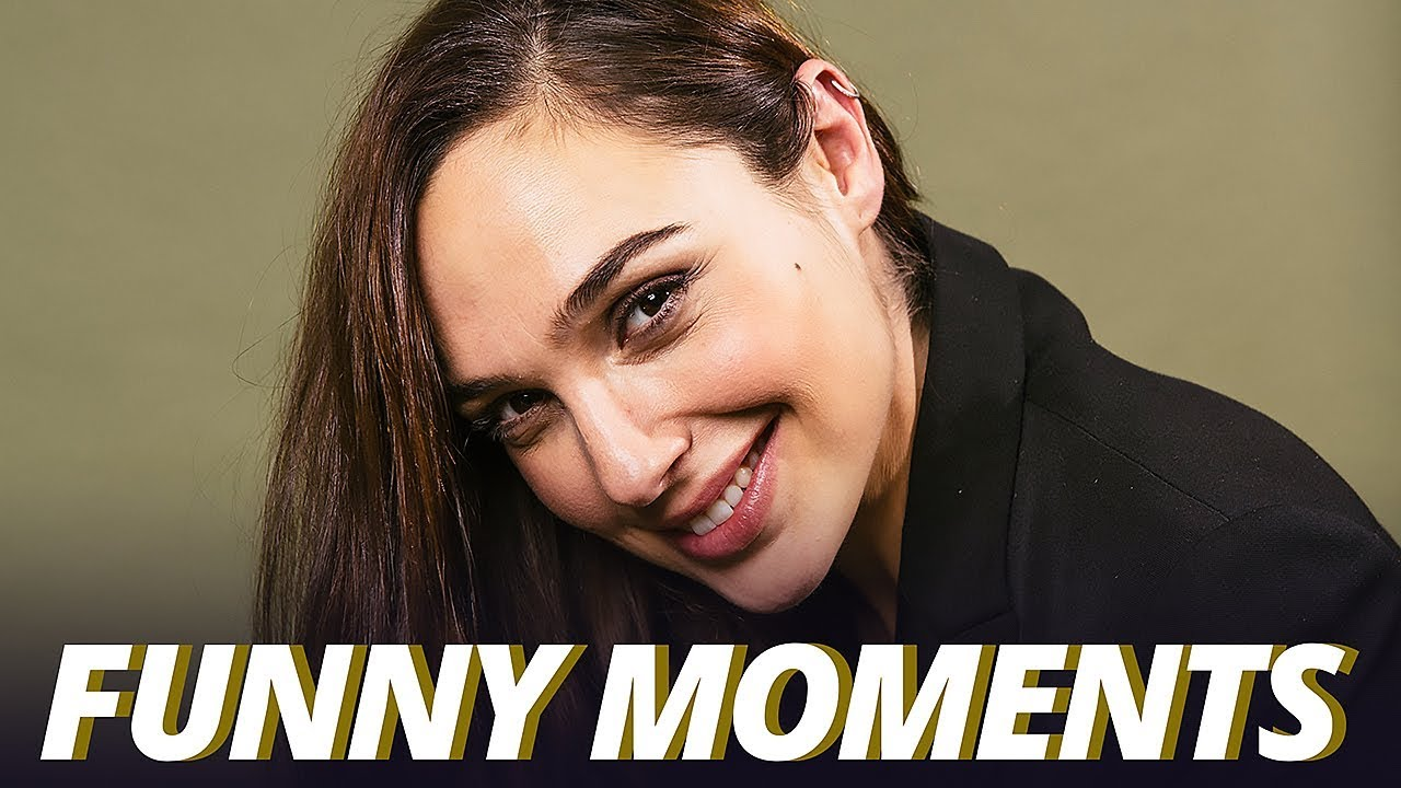 Gal Gadot Funny Moments - Justice League (2017)