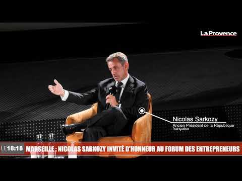 Marseille : Nicolas Sarkozy invité d'honneur au forum des entrepreneurs
